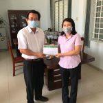 Trung tâm Y tế Ninh Hòa nhận được sự quan tâm của Ngân hàng  Chính sách Xã hội trong công tác phòng chống dịch Covid-19