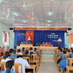 Trung tâm Y tế Ninh Hòa tổ chức đối thoại giữa lãnh đạo với thanh niên